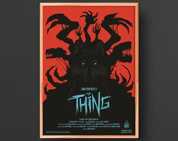 John Carpenter's the Thing Movie Poster (1982)