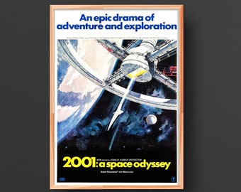 2001: A Space Odyssey Movie Poster (1968)