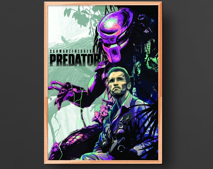 Predator Movie Poster (1987)
