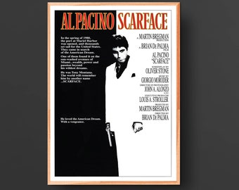 Scarface Movie Poster (1983)