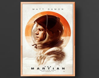 The Martian Movie Poster (2015)