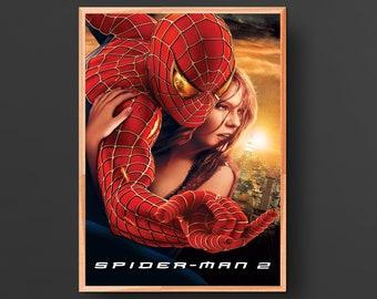 Spiderman 2 Movie Poster (2004)