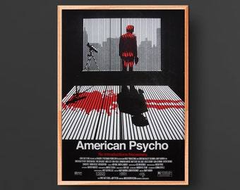 American Psycho Movie Poster (2000)