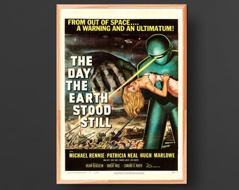 The Day the Earth Stood Still Movie Poster (1951)