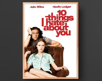 10 Things I Hate About You Movie Poster (1999)