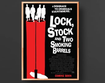Lock, Stock and Two Smoking Barrels Movie Poster (1998)