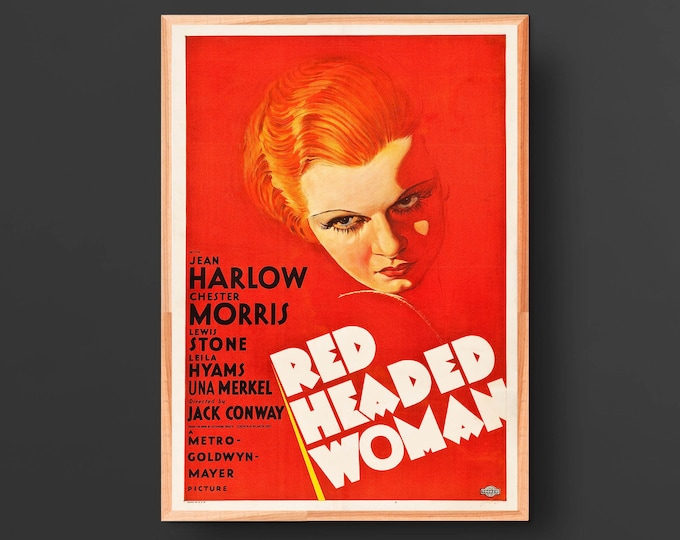 Red-Headed Woman Movie Poster (1932)