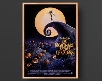 The Nightmare Before Christmas Movie Poster (1993)