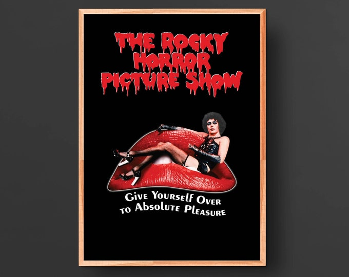 The Rocky Horror Picture Show Movie Poster (1975)