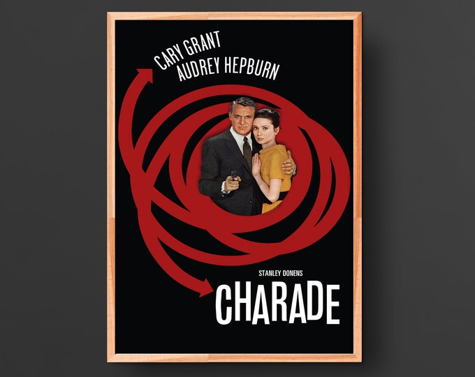 Charade Movie Poster (1963)