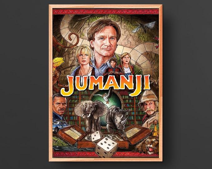 Jumanji Movie Poster (1995)