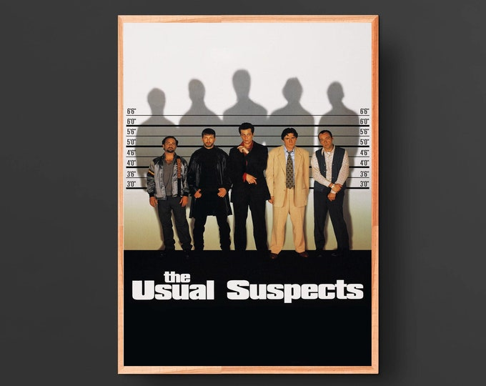 The Usual Suspects Movie Poster II (1995)