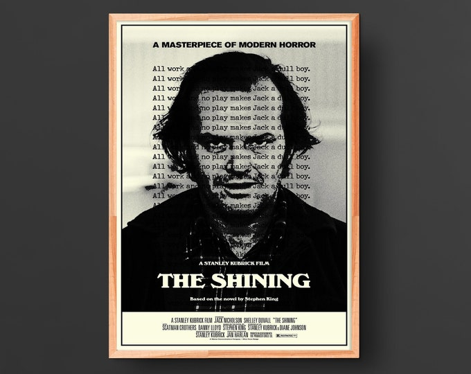 The Shining (1980) Vintage Movie Poster