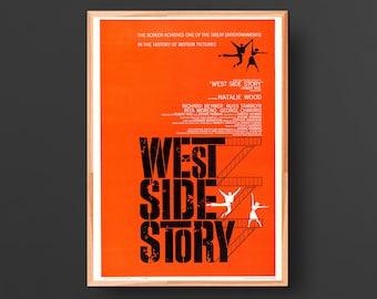 West Side Story Alternate Movie Poster (1961)