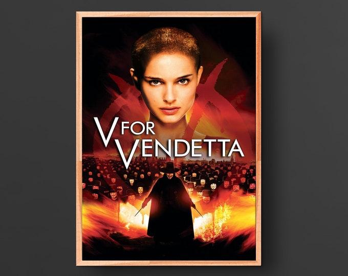 V for Vendetta Movie Poster (2005)