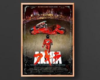 Akira Movie Poster (1988)