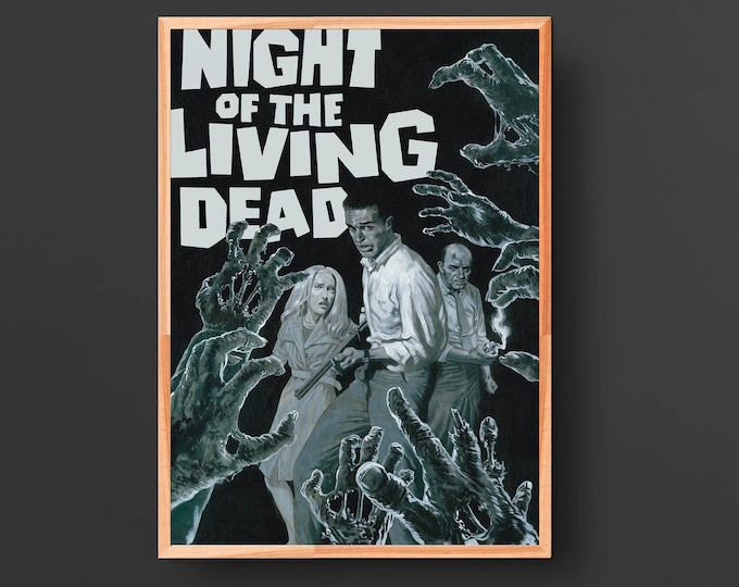 Night of the Living Dead Movie Poster (1968)