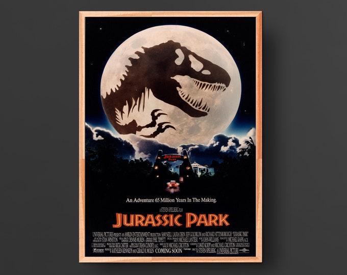 Jurassic Park Movie Poster (1993)