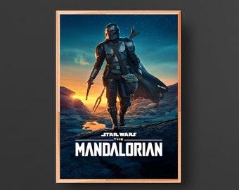 The Mandalorian TV Poster (2019)