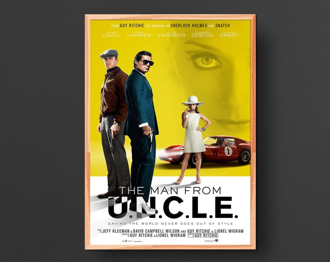 The Man from U.N.C.L.E. Movie Poster (2015)
