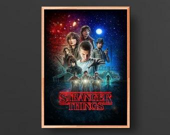Stranger Things Poster (2016)