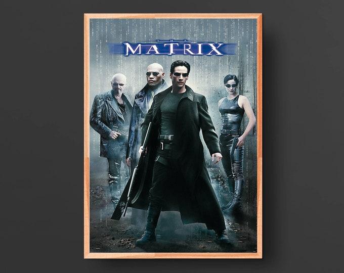 The Matrix Movie Poster (1999)