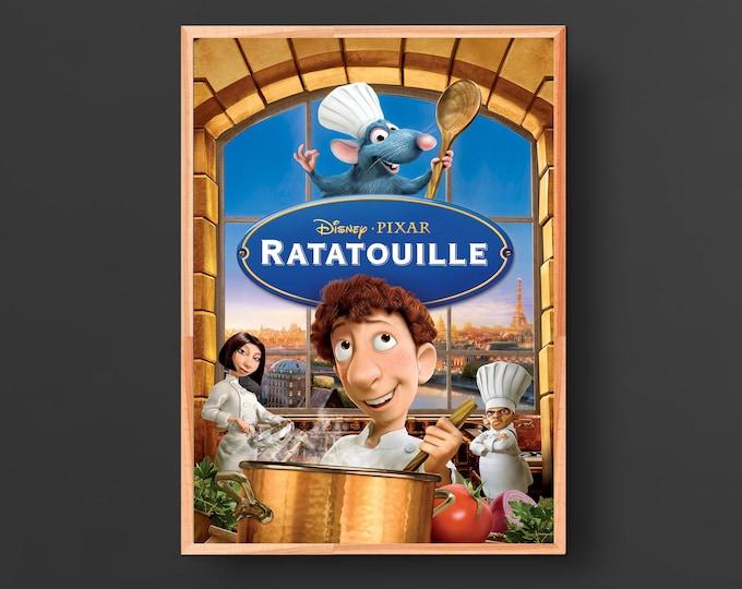 Ratatouille Movie Poster (2007)