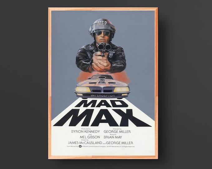Mad Max Vintage Movie Poster (1979)