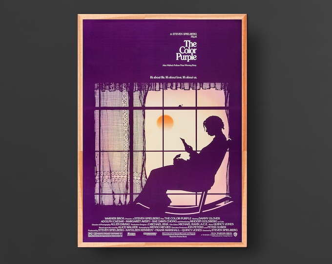 The Color Purple Movie Poster (1985)