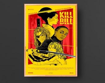 Kill Bill: Volume 1  (2003) Vintage Movie Poster