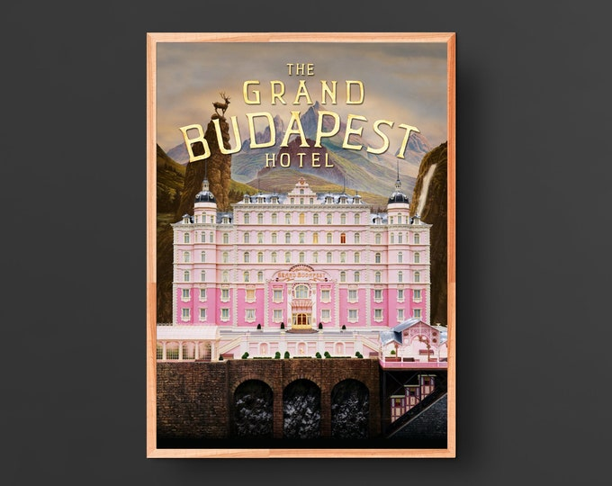 The Grand Budapest Hotel Movie Poster (2014)