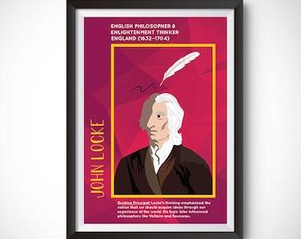 John Locke Poster Wall Decor