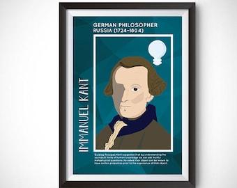 Immanuel Kant Poster Wall Decor