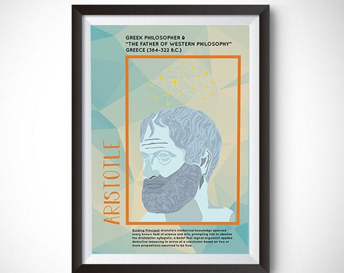 Aristotle Poster Wall Decor