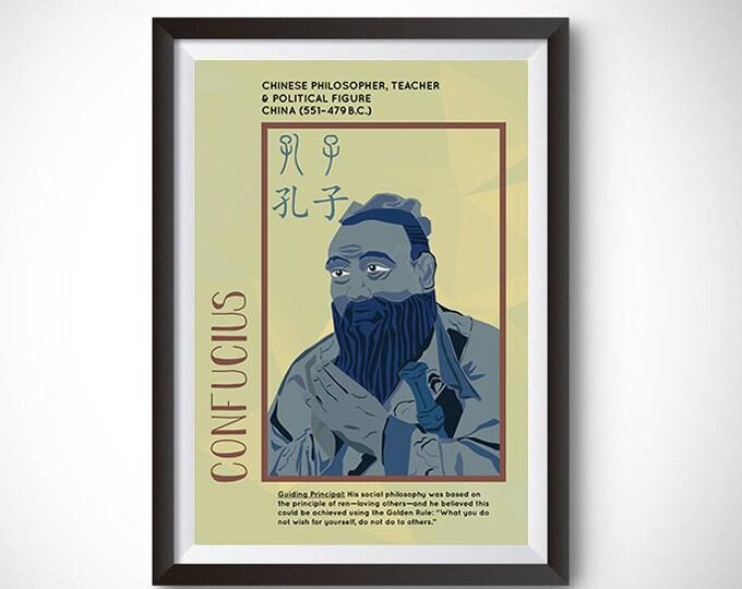 Confucius Poster Wall Decor