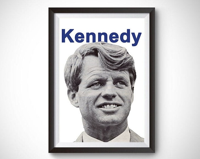 Bobby Kennedy Vintage Campaign Poster (1968)