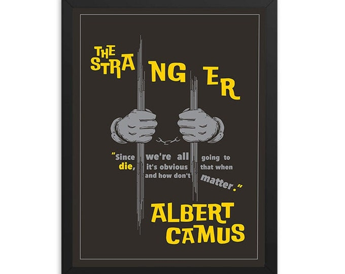 The Stranger by Albert Camus Book Poster