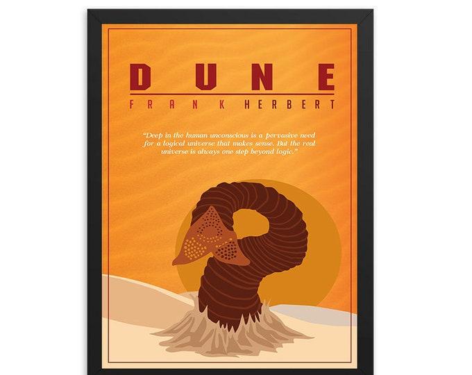 Dune by Frank Herbert Book Poster