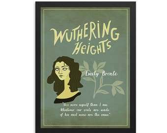 Wuthering Heights by Emily BrontëBook Poster