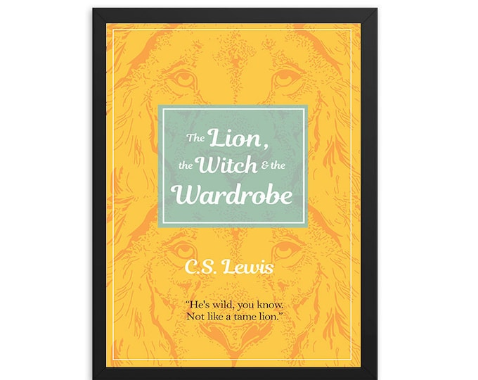 The Lion, the Witch, & the Wardrobe (Narnia) by C.S. Lewis Book Poster