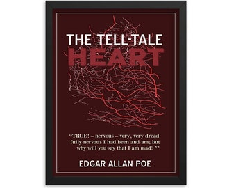 The Tell-Tale Heart by Edgar Allan Poe Book Poster