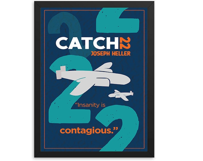 Catch-22 by Joseph Heller Book Poster