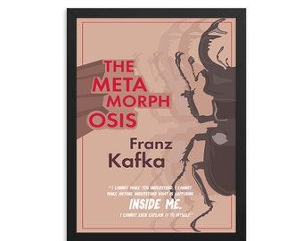 The Metamorphosis by Franz Kafka Book Poster