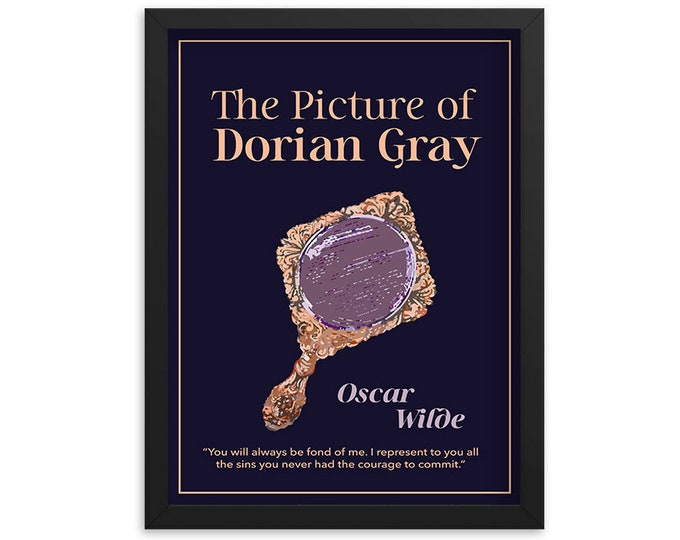 The Picture of Dorian Gray by Oscar Wilde Book Poster