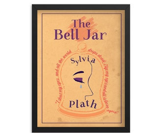 The Bell Jar by Sylvia Plath Book Poster