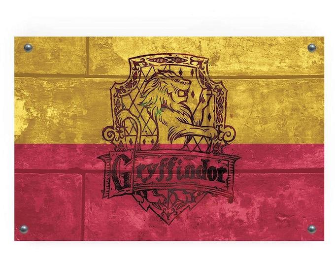 Gryffindor House Flag Wall Decor