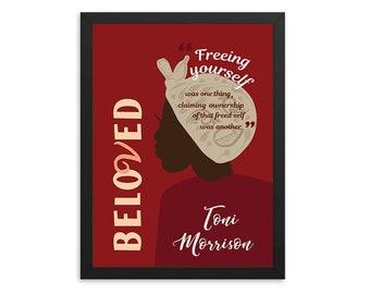 Beloved by Toni Morrison Book Poster
