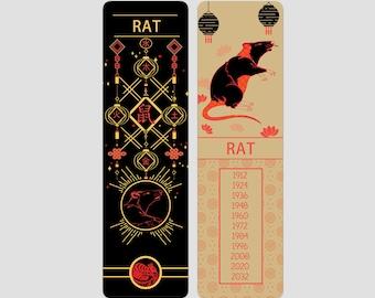 Rat Chinese Zodiac Sign (Sheng Xiao)   Bookmark