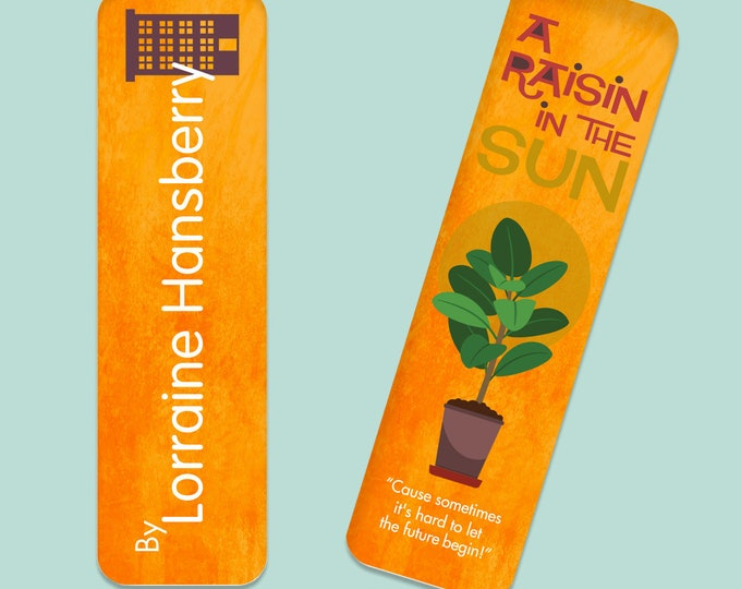 Featured listing image: A Raisin in the Sun by Lorraine Hansberry Bookmark