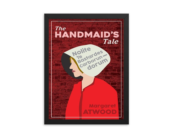 The Handmaid's Tale by Margaret Atwood Book Poster